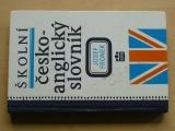 Fronek - Školní česko-anglický slovník (1993)