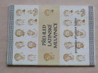 Přehled latinské mluvnice (1992) sešit