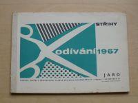 Odívání - Střihy - Jaro (1967)