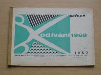 Odívání - Střihy - Jaro (1968)