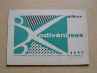 Odívání - Střihy - Jaro (1969)
