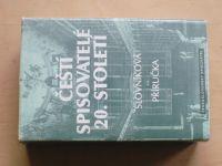 Čeští spisovatelé 20. století - Slovní příručka (1985)