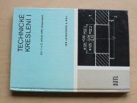 Leinveber - Technické kreslení I pro 1. a 2. ročník SPŠ strojnických (1980)
