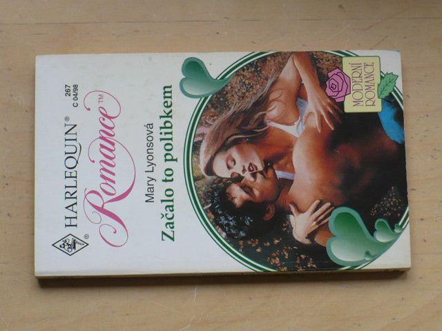 Romance, č.267: Lyonsová - Začalo to polibkem (1998)