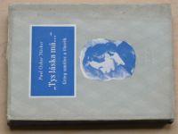 """Höcker - """"Tys láska má..."""" Grieg umělec a člověk (1944)"""
