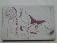 Čeněk Kramoliš - Javornické hody (1944) podpis autora