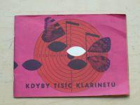Kdyby tisíc klarinetů - Ústřední půjčovna filmů, sešit