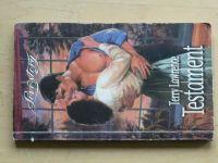 Love story, č.140: Lawrence - Testament (1999)