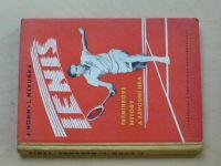 Höhm, Meruňka - Tenis - Tréninkové metody a závodní hra (1959)
