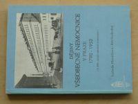 Hlaváčková, Svobodný - Dějiny všeobecné nemocnice v Praze 1790 - 1952 (1990)