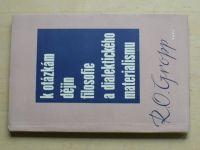 Gropp - K otázkám dějin filosofie a dialektického materialismu (1961)