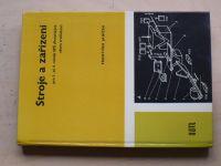 Janíček - Stroje a zařízení pro 1. až 4. ročník SPŠ dřevařských oboru truhlářství (1979)