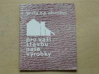 Prefa n.p. Olomouc - Pro vaši stavbu naše výrobky - katalog