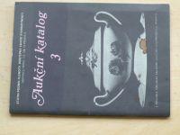 Klenoty Praha o.z. Starožitnosti - Aukční katalog 3  (1988)