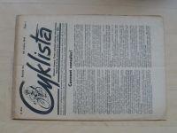 Cyklista 1-20 (1948) ročník LIV. (chybí čísla 13-20, 12 čísel)