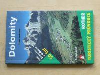 Hauleitner - Dolomity - mezi Brixenem a Bellunem 50 túr (2004)