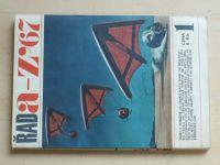 Řada Z - 1-2 (1967) 2 čísla (chybí čísla 3 a 4)