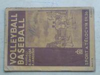 Chudoba, Janoušek - Volleyball, baseball (1940)