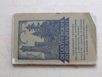 Dostál - Orlickými horami do Říše Pradědovy (1925) ilustrovaný průvodce