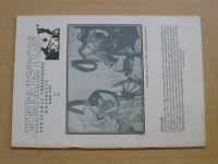 Hefaiston - Zpravodaj uměleckého kovářství  - srpen 1992 - 1