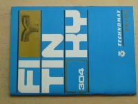Technomat Praha - Fitinky (1976) katalog, výrobce MŽ Olomouc