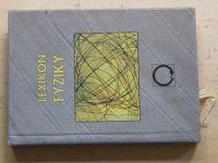 Lošťák - Lexikon fyziky - Přehled učiva ZŠ a SŠ (1997)