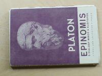 Platon - Epinomis, Minos, Kleitofon, Pseudoplatonika, Epigramy (1942)