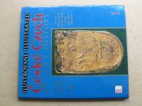 Ilustrované české dějiny - Illustrated czech history 1-4 (1996) 4 knihy