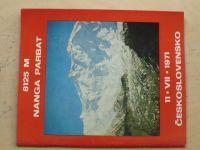 8121 M NANGA PARBAT 11.VII.1971 Československo (slovensky)