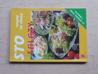 Peukertová - Sto receptů na chutné saláty (1999)