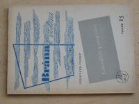 Veselý - Kosoúhlé promítání (1950) Brána k vědění svazek 15