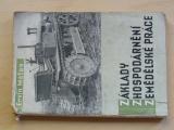 Ervín Mates - Základy zhospodárnění zemědělské práce (1949) foto traktory