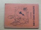 Novotňák - Rak v české heraldice (1947) Heraldická knihovna sv. 1