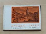 Kubíček - Barokní Praha v rytinách Bedřich B. Wernera (Odeon 1966)