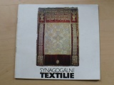 Synagonální textilie - Státní židovské muzeum Praha 1984