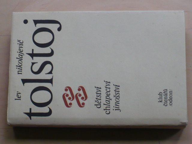 Tolstoj - Dětství, chlapectví, jinošství (1977)