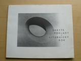 Skryté umění - Liturgický rok - Dům unění města Brna 1997/98 - katalog