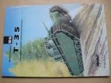 Tank T-35 - Model CARD