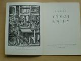 Výstava Vývoj knihy - UMPRUM Brno 1954-56