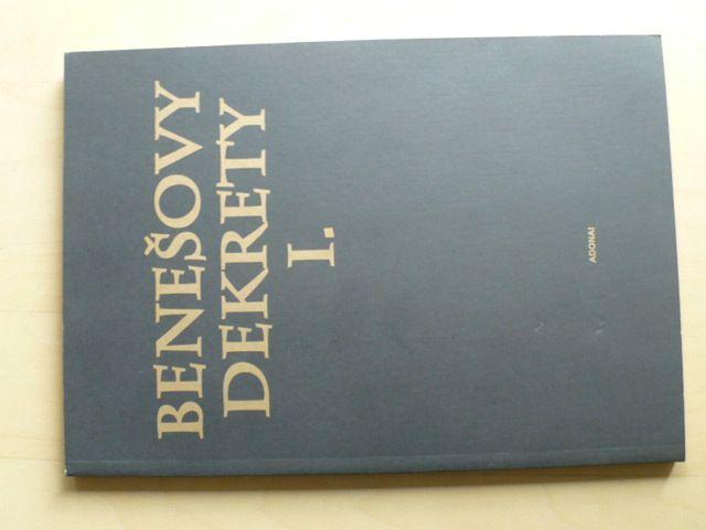 Benešovy dekrety I. z roku 1945 (2002)