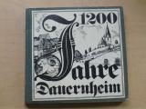 1200 Jahre Dauernheim (1982) německy