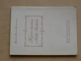 B. B. Buchlovan - Knižní ilustrace Adolfa Kašpara (1942) Rukověť milovníka knih I-