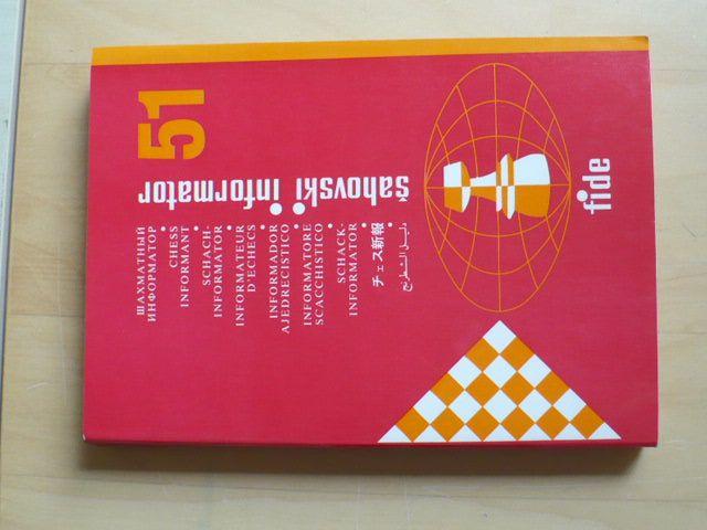 Šachový informátor 51 (Bělehrad 1991) vícejazyčný