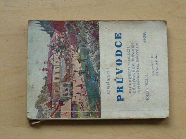 Kapesní průvodce po letních sídlech, lázeňských místech a mořských lázních (1929)