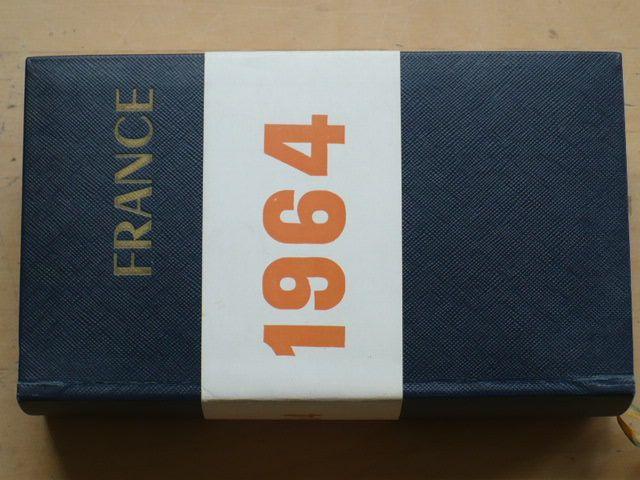 France (Hachette 1964) Podrobný průvodce, francouzsky