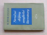 Evans - Stručné dějiny anglické literatury (1948)
