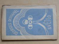 Georges Duhamel - Světlo (1921) úprava a obálka Josef Čapek