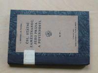 Knotek, Vávra - Čsl. státní zaměstnanec, jeho práva a povinnosti (1924)