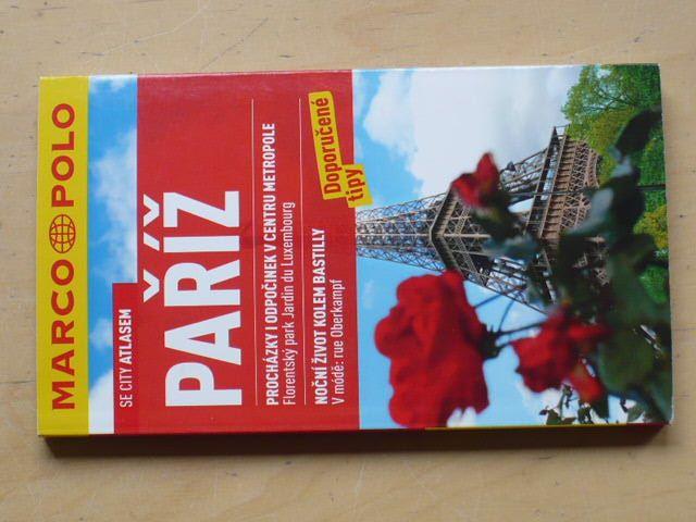 Paříž se city atlasem - Marco Polo 2011