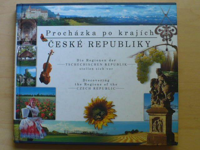 Procházka po krajích České republiky česky / německy / anglicky